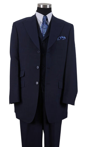 Milano Moda Suit 905V-Navy - Church Suits For Less