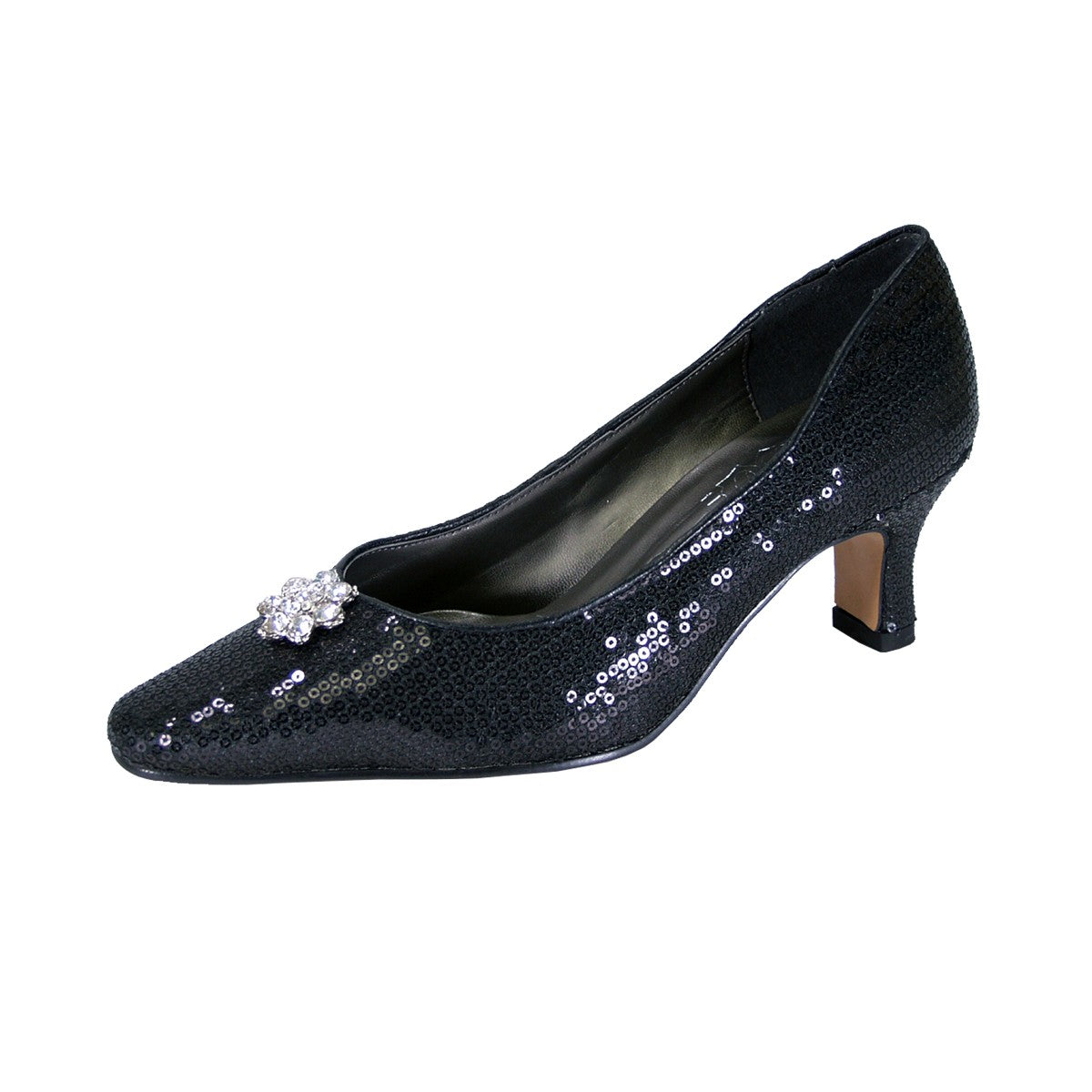 Women Church Shoes DP726C-Black - Church Suits For Less