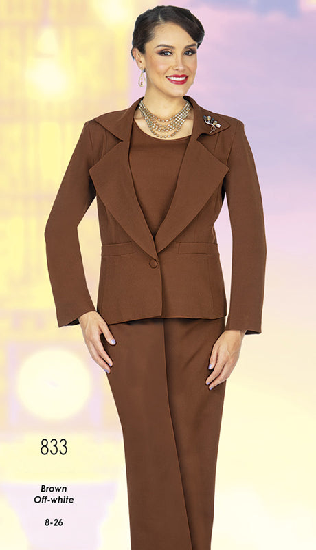 Aussie Austine Pant Suit 833 - Church Suits For Less