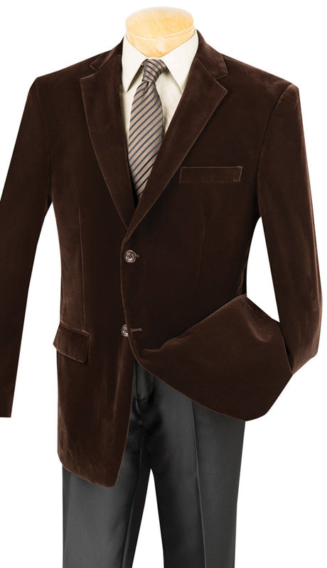 Vinci Sport Jacket B-19-Brown - Church Suits For Less