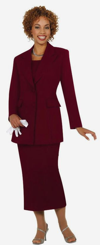 BM2299-BURG - Church Suits For Less