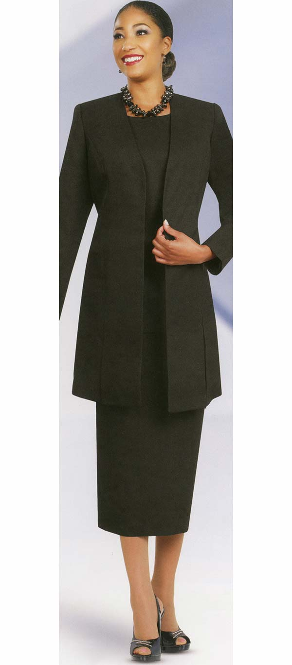 Ben Marc Usher Suit 2296-Black - Church Suits For Less