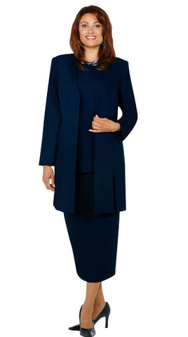 Ben Marc Usher Suit 2296-Navy