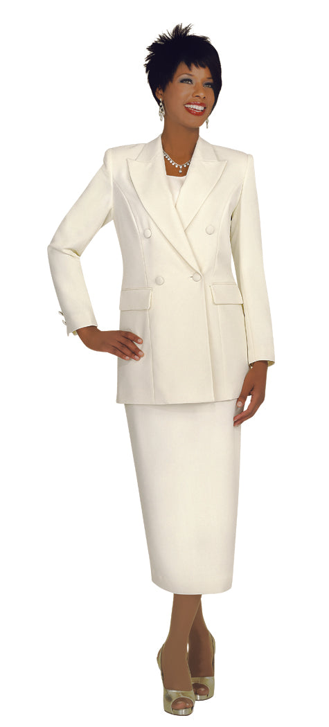 Ben Marc Usher Suit 2298C-Ivory - Church Suits For Less