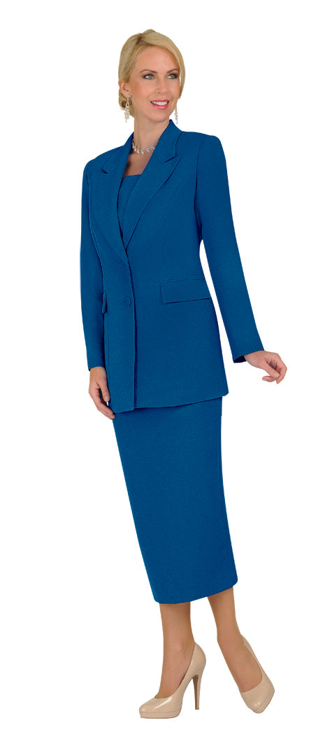 Ben Marc Usher Suit 2299C-Royal - Church Suits For Less