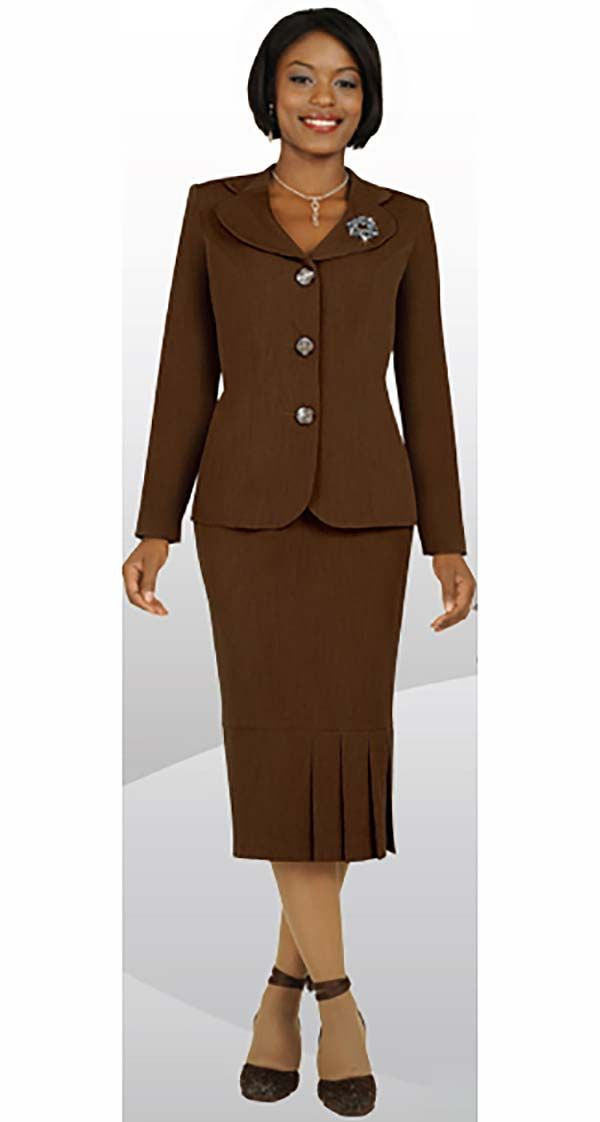 Ben Marc Usher Suit 78095-Chocolate - Church Suits For Less