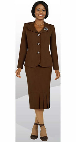 Ben Marc Usher Suit 78095-Chocolate