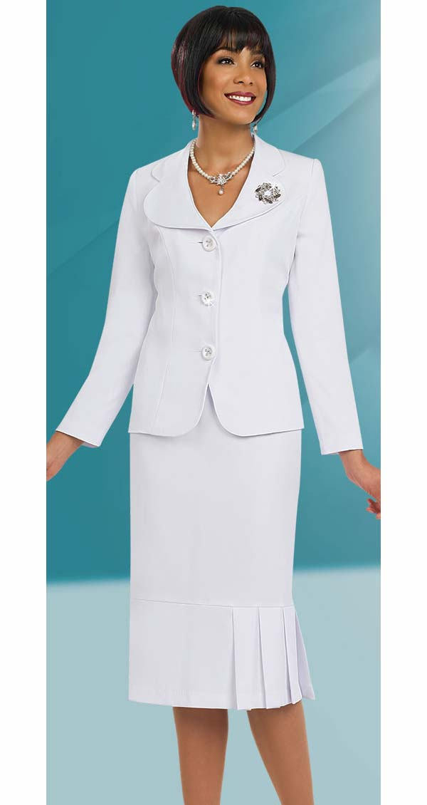 Ben Marc Usher Suit 78095-White - Church Suits For Less