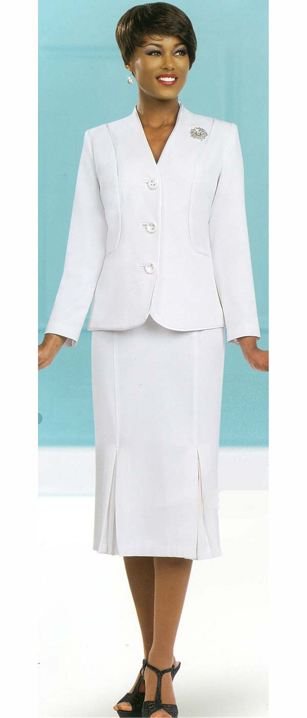 Ben Marc Usher Suit 78098-White - Church Suits For Less