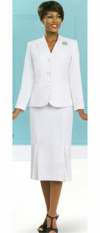 Ben Marc Usher Suit 78098-White