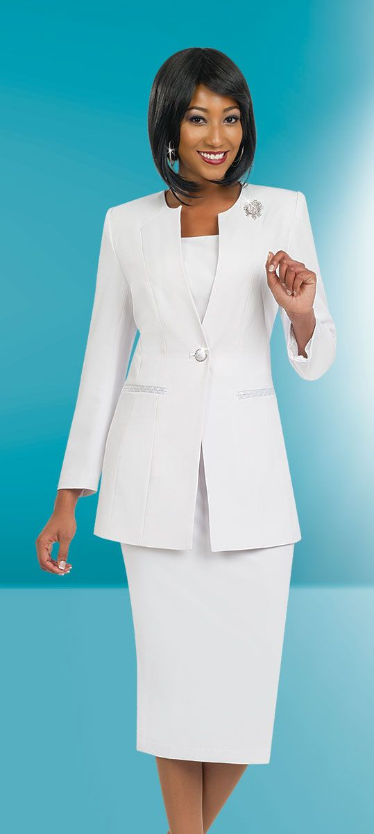 Ben Marc Usher Suit 78099-White - Church Suits For Less