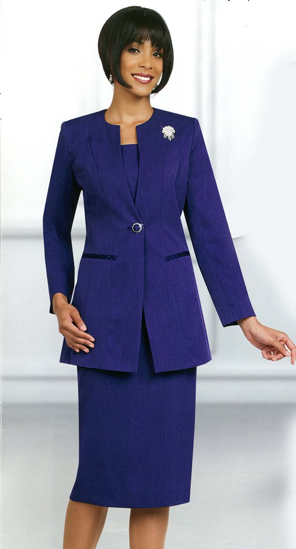 Ben Marc Usher Suit 78099-Purple - Church Suits For Less