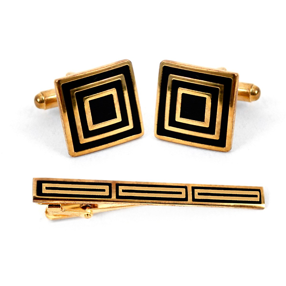 Cuff-link and Tie Bar Set CTB2240 - Church Suits For Less