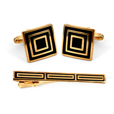 Cuff-link and Tie Bar Set CTB2240