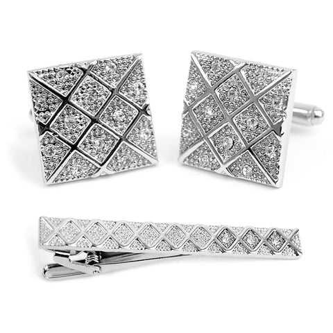 Cuff-link and Tie Bar Set CTB2305