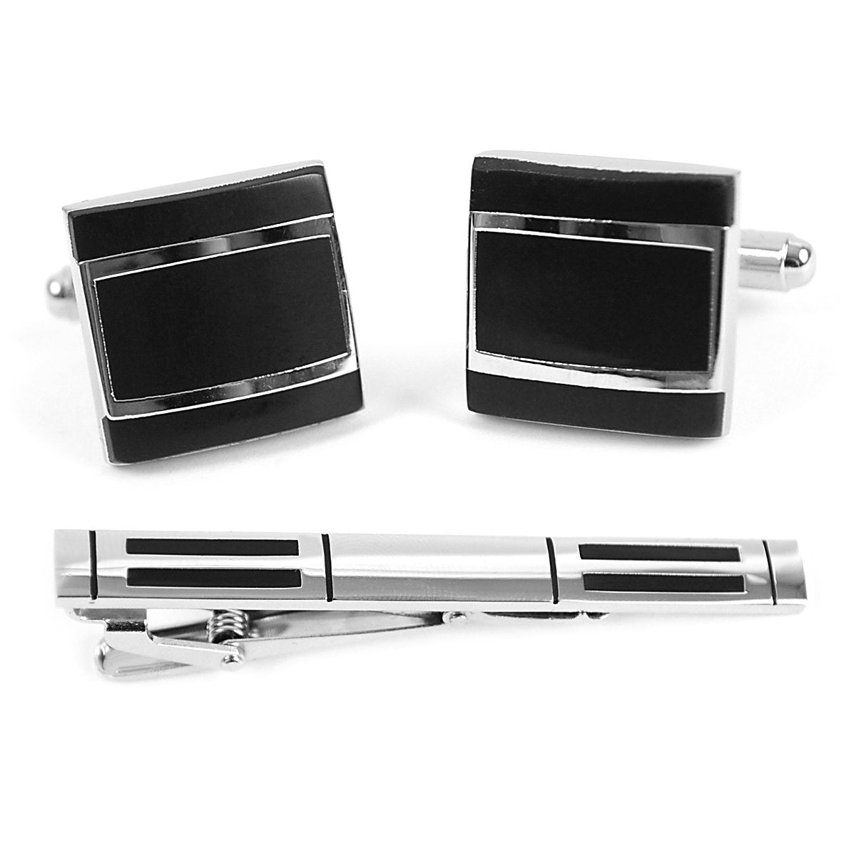 Cuff-link and Tie Bar Set CTB2407 - Church Suits For Less
