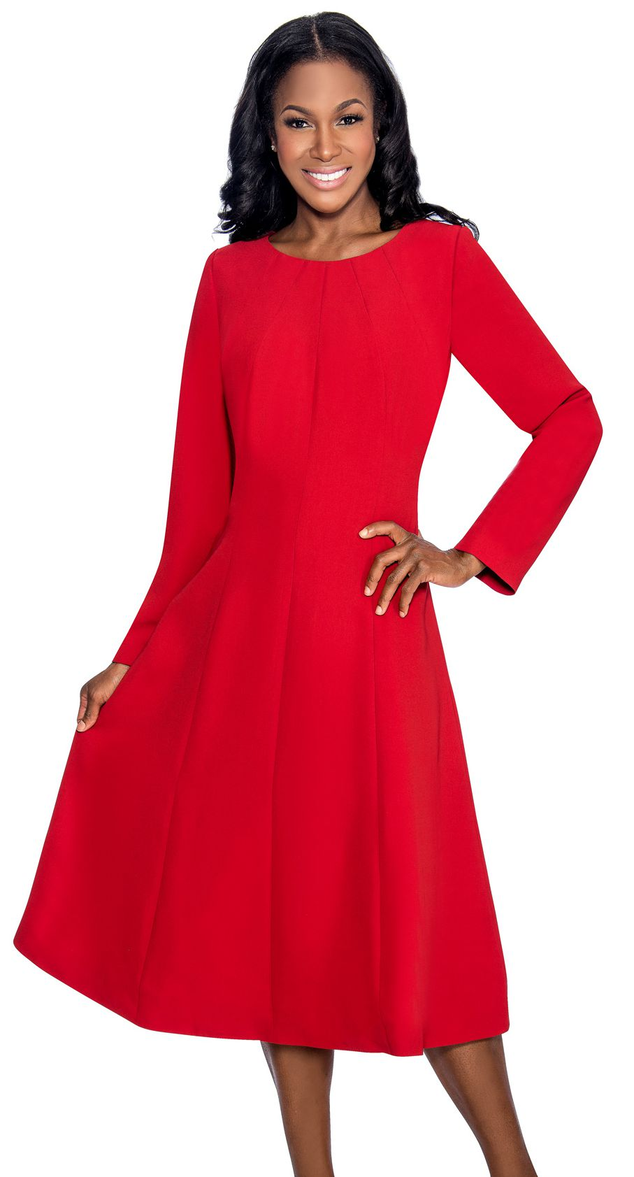 Giovanna Dresses D1451-Cranberry - Church Suits For Less