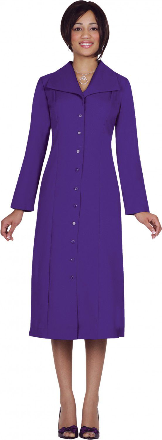 Usher Suit-11573-Purple - Church Suits For Less