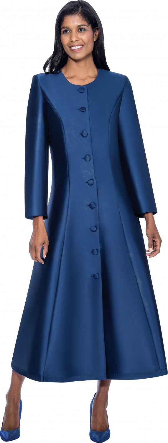Women Church Robe RR9041-Navy - Church Suits For Less
