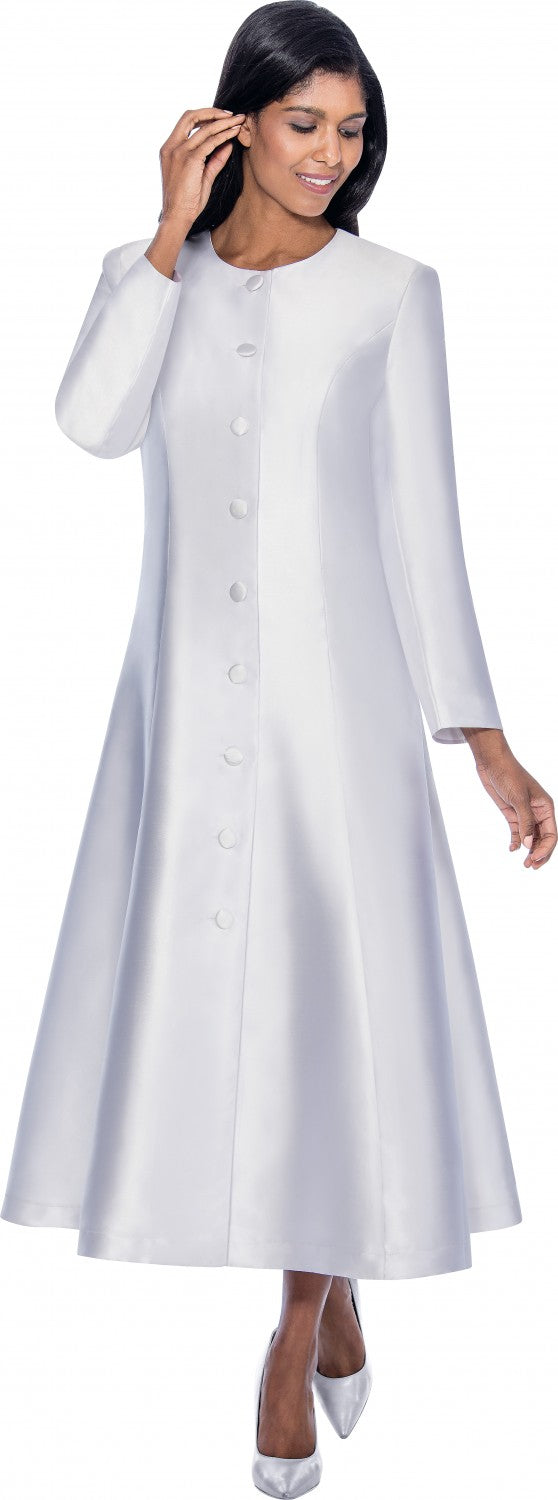 Women Church Robe RR9041-White - Church Suits For Less