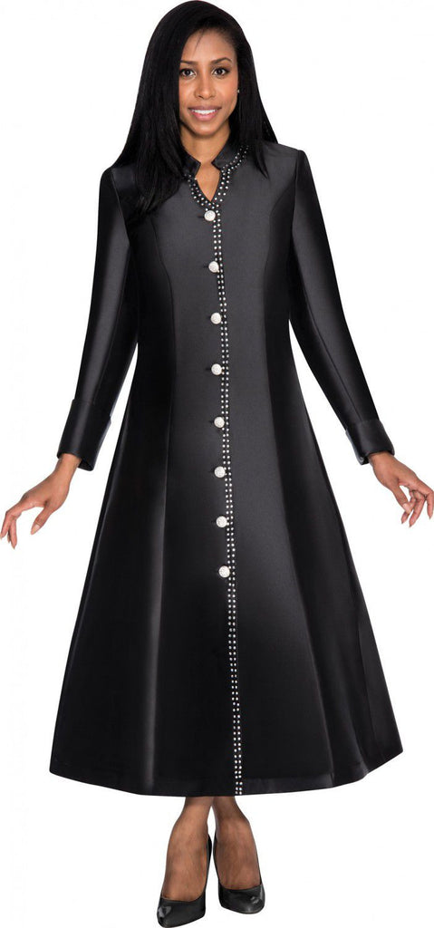 Nubiano Dress 5881-Black - Church Suits For Less