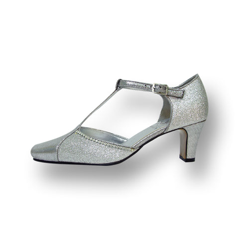 Women Church Shoes DP772-Silver