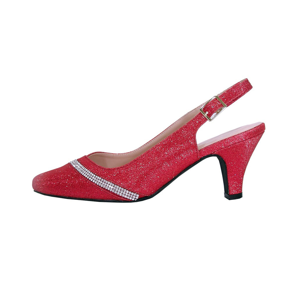 Women Church Shoes DP833-Red - Church Suits For Less