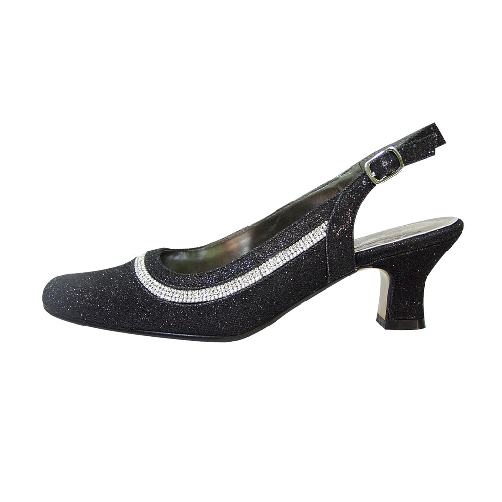 Women Church Shoes DP842-Black - Church Suits For Less