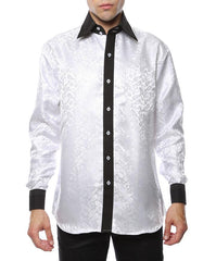 Designer Men Dress Shirts-MSD1033 - Church Suits For Less