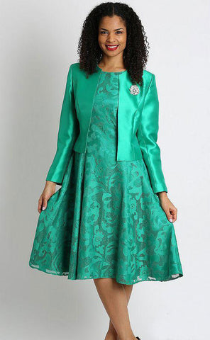 Diana Dress 8138-Emerald