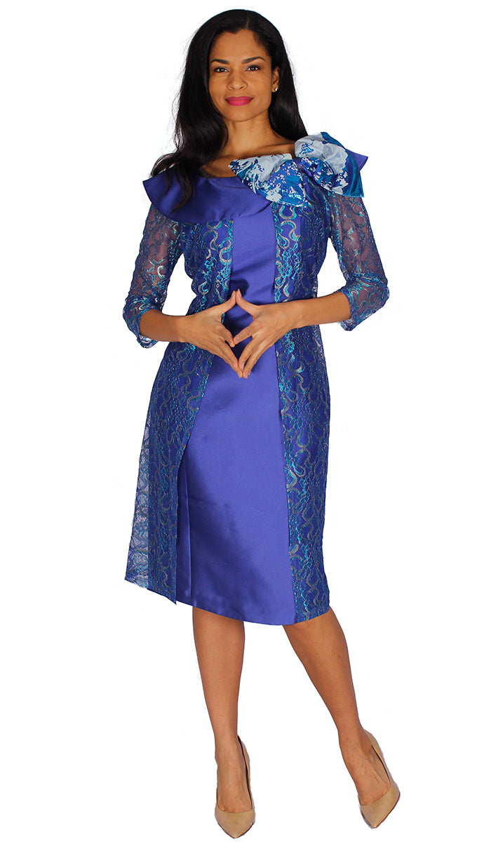 Diana Couture Dress 8565 - Church Suits For Less