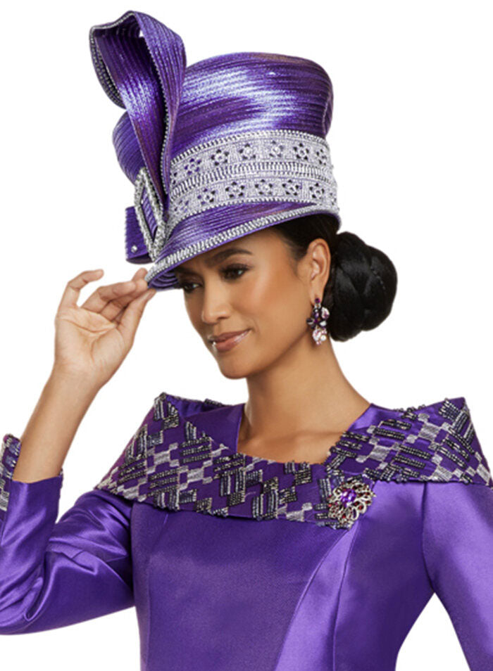 Donna Vinci Hat 5707 - Church Suits For Less