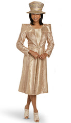 Donna Vinci Jacket Dress 11908 - Church Suits For Less