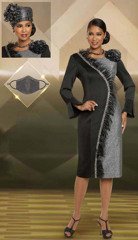 Donna Vinci Dress 11889 - Church Suits For Less