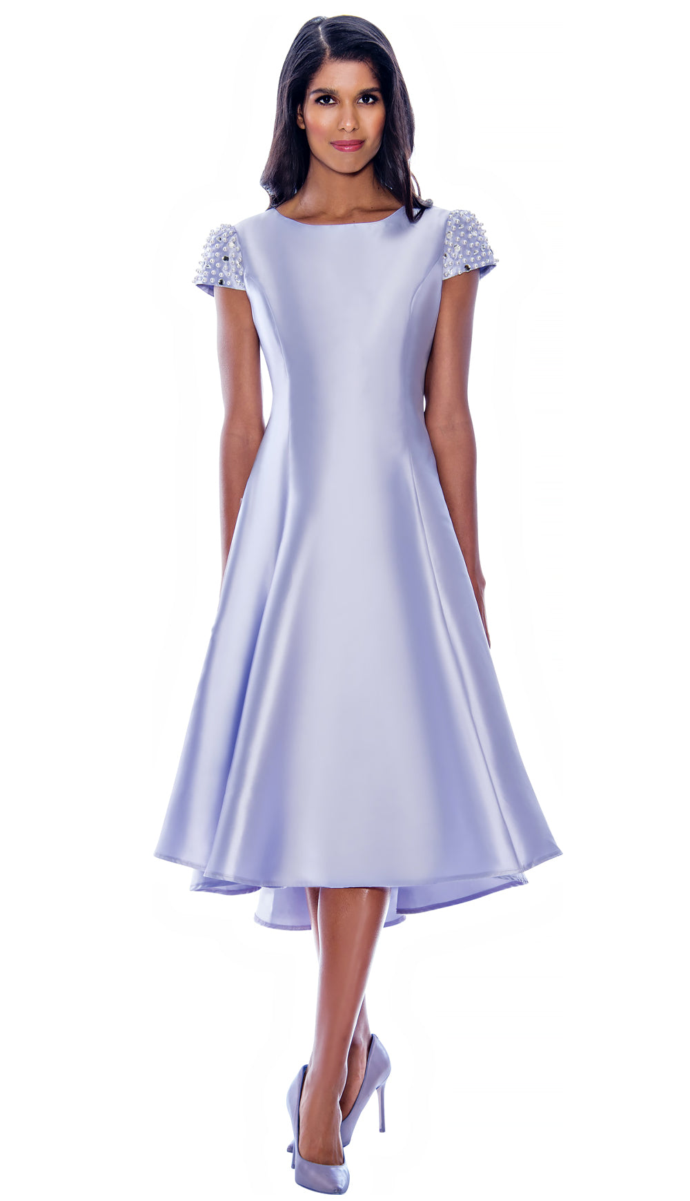 Nubiano Dress 2001-Lavender - Church Suits For Less