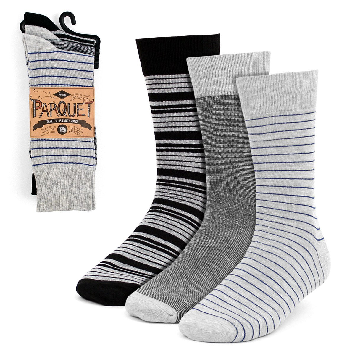 Dress Socks 3PKS-DRSY2 - Church Suits For Less