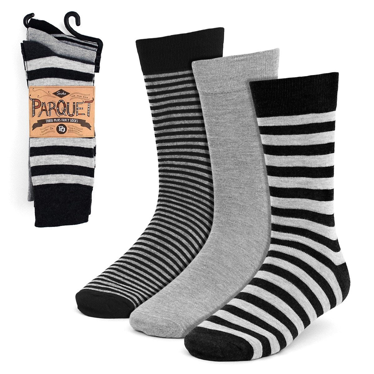 Dress Socks 3PKS-DRSY3 - Church Suits For Less