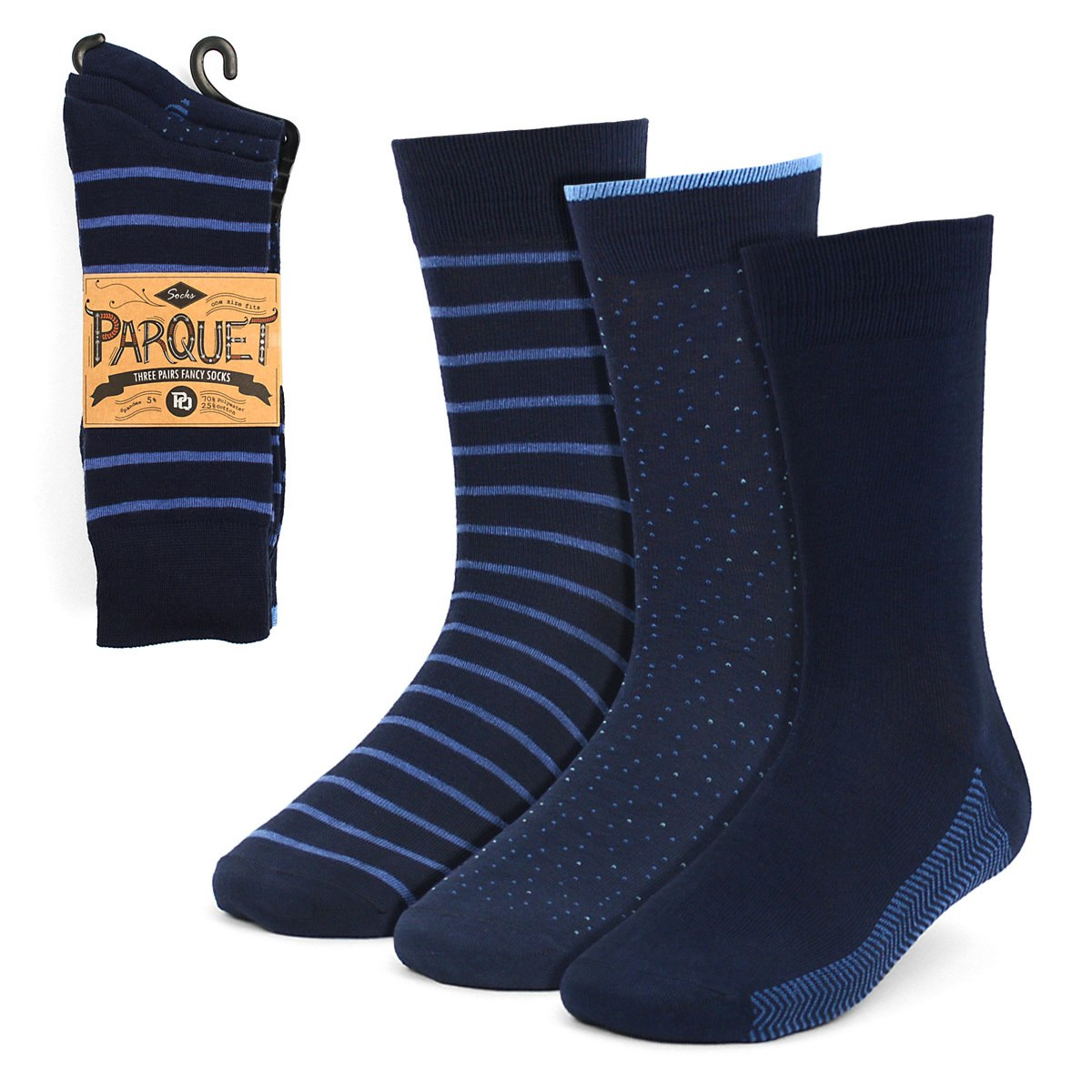 Dress Socks 3PKS-DRSY6 - Church Suits For Less