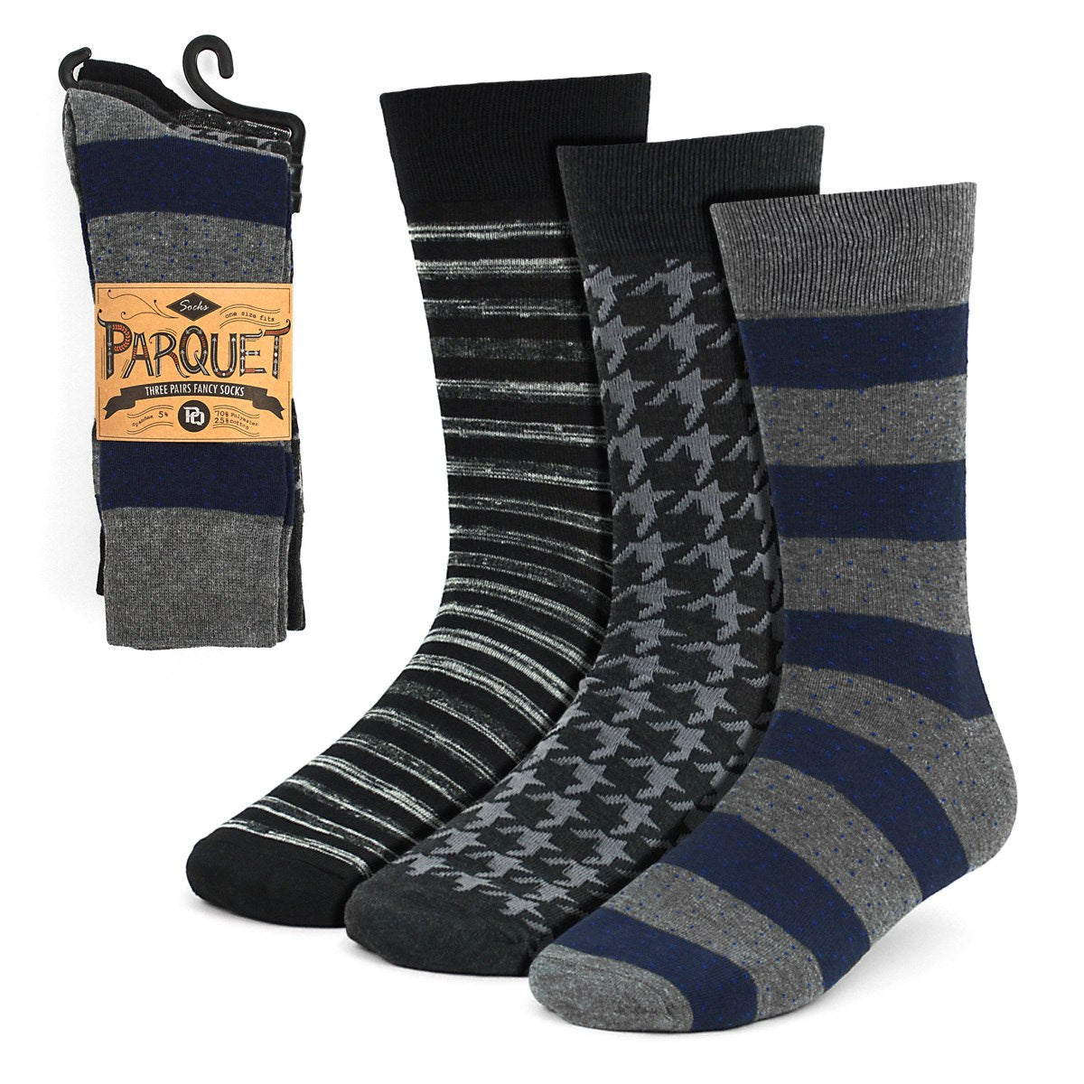Dress Socks 3PKS-DRSY7 - Church Suits For Less