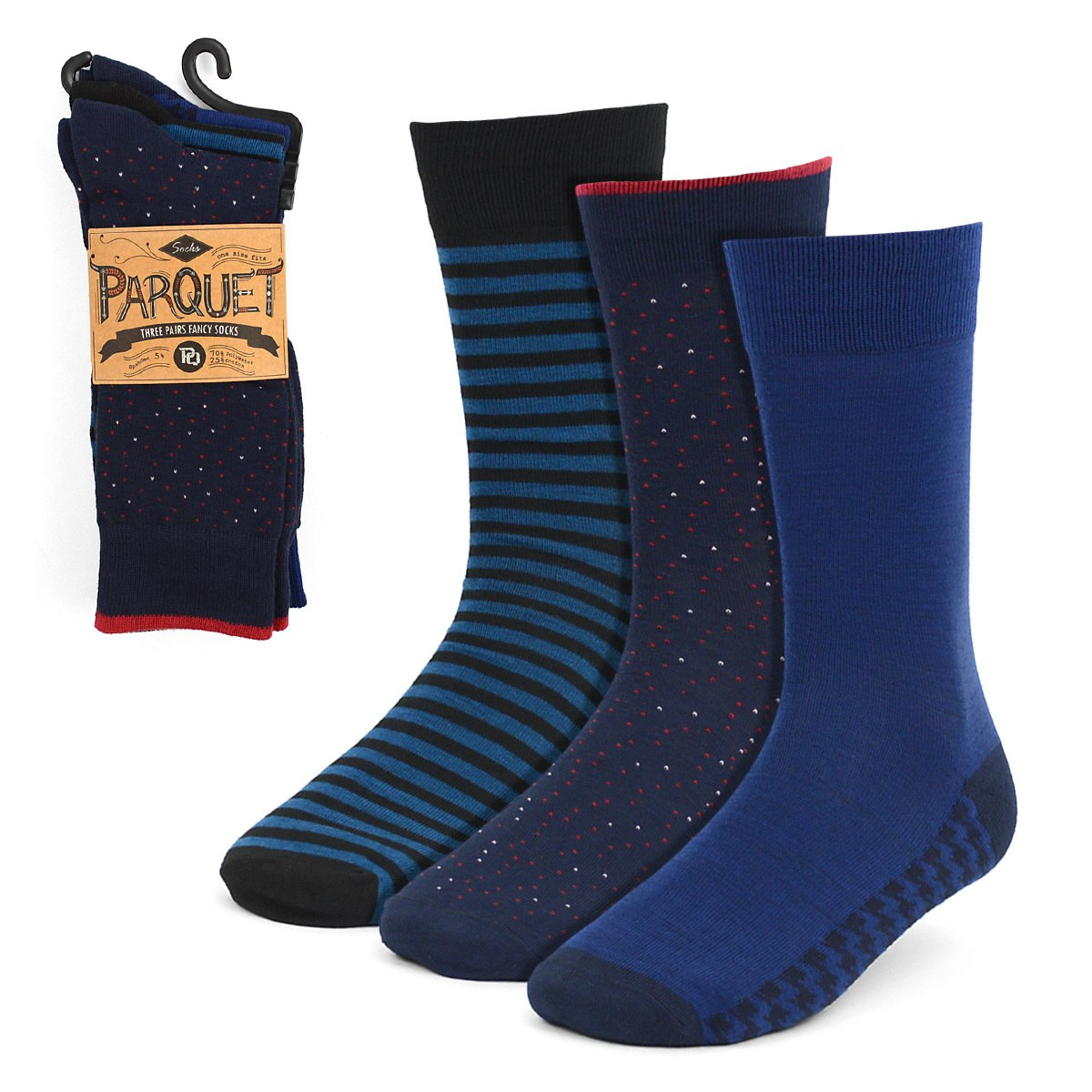 Dress Socks 3PKS-DRSY8 - Church Suits For Less