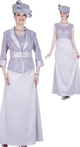 Aussie Austine Dress 5360-Pearl Grey