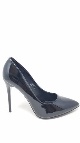 Women Church Shoes-FabiC-Black