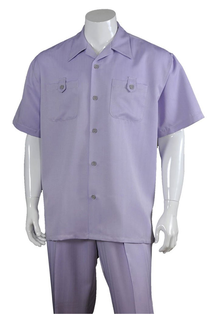 Fortino Landi Walking Set M2963-Lavender - Church Suits For Less