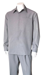 Fortino Landi Walking Set M2764-Grey - Church Suits For Less