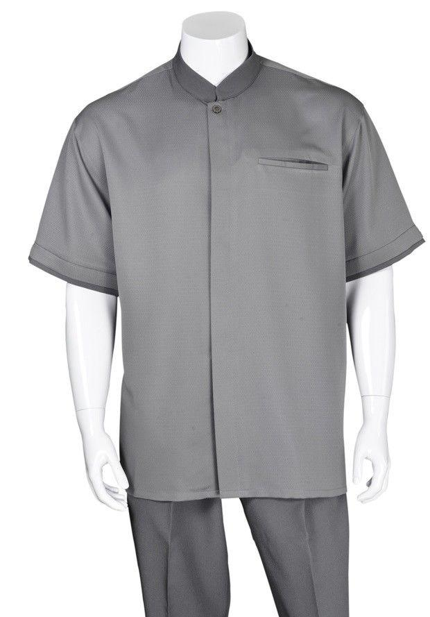 Fortino Landi Walking Set M2959-Grey - Church Suits For Less