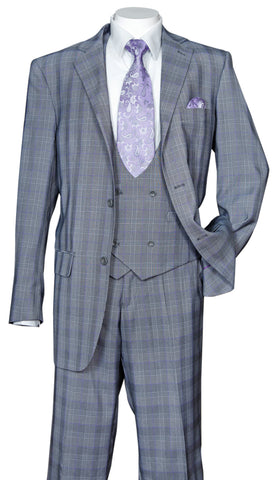 Fortino Landi Suit 5702V6-Grey