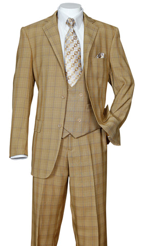 Fortino Landi Suit 5702V6-Tan