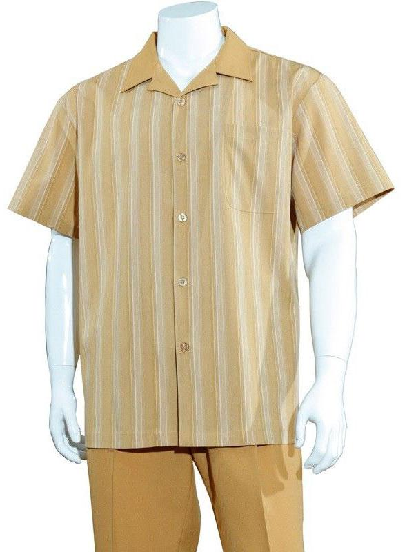 Fortino Landi Walking Set M2966-Camel - Church Suits For Less
