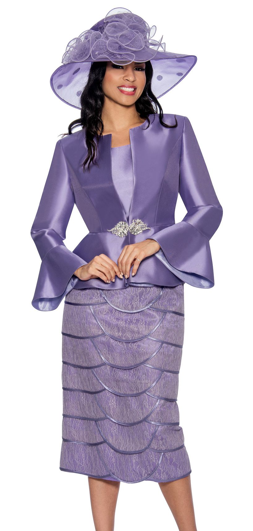 Giovanna Suit G1060C-Lavender - Church Suits For Less