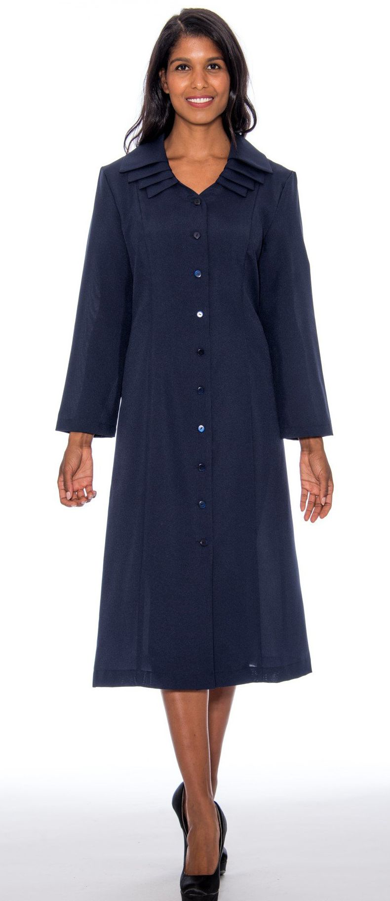 GMI Usher Dress 11721-Navy - Church Suits For Less
